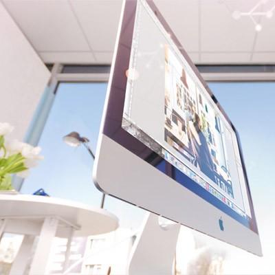 iMac hos Knutar Webbyrå Uppsala