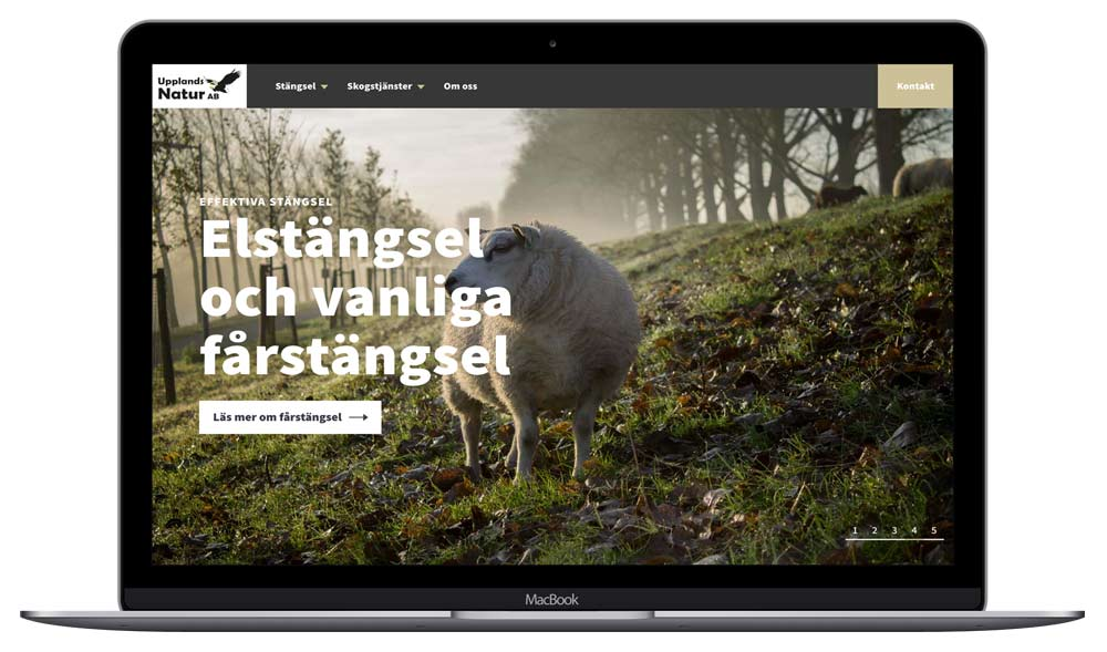 Hemsida för Upplands Natur - Stängsel och skogsvård